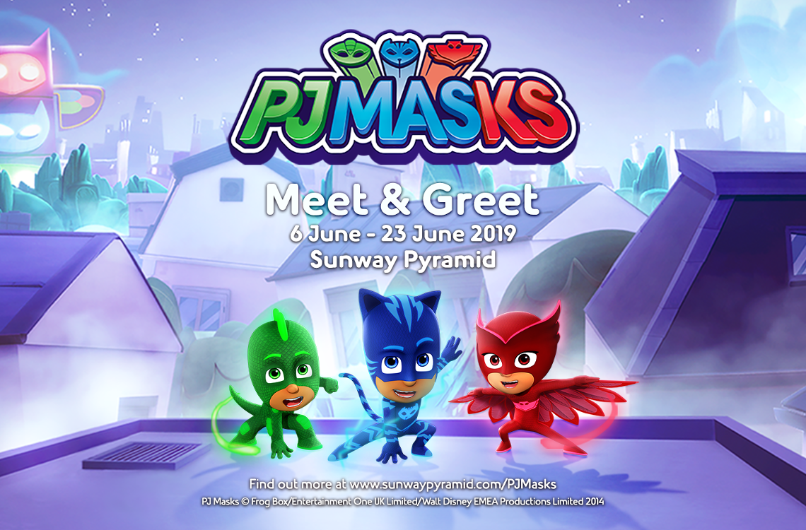 PJ Masks at Sunway Pyramid