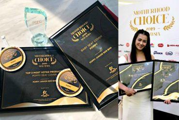 Motherhood Choice Awards 2019 Top 3 Most Voted Winner: Poppy Seat