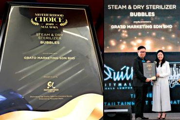 Motherhood Choice Awards 2019 Top 3 Most Voted Winner: Bubbles Steam & Dry Sterilizer