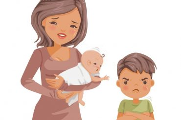 how you help your child to adjust with newborn