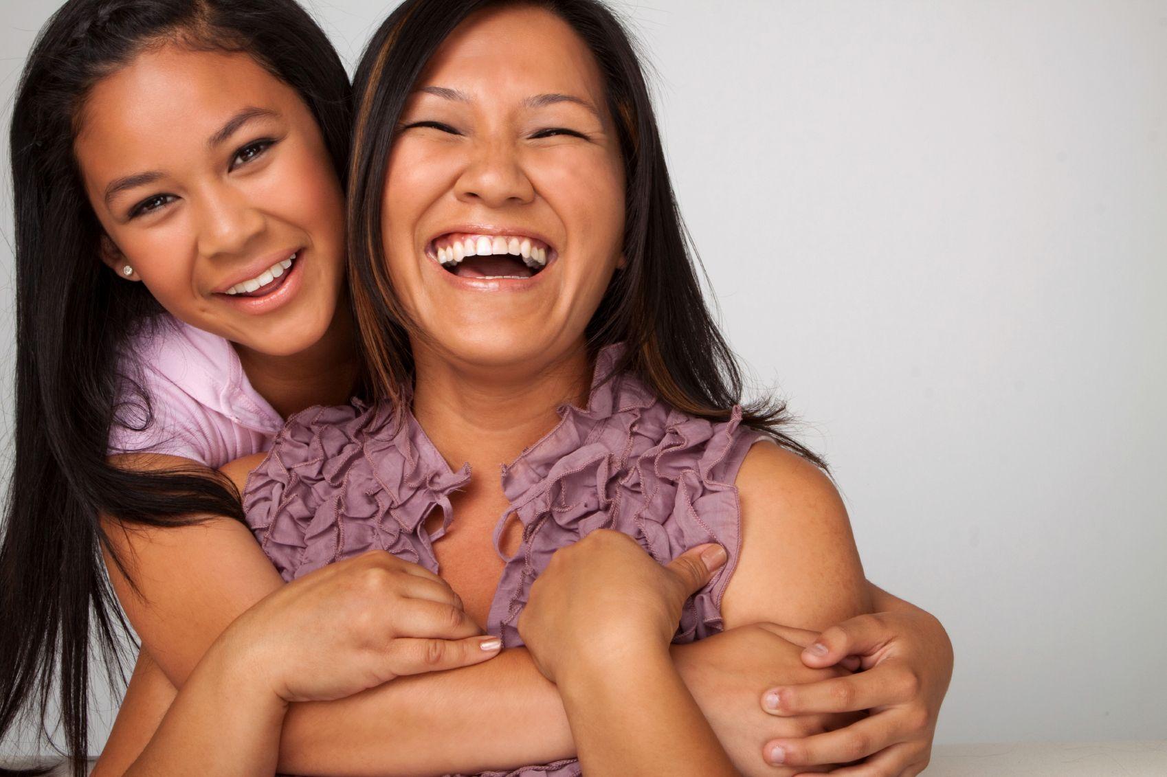 Asian Mom Smile